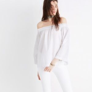 Madewell Clean Off the Shoulder Top